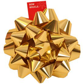 Gold Gift Bows