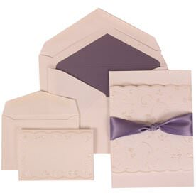 Purple Ribbon Set
