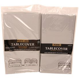 Silver Table Covers