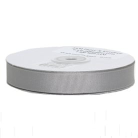 Silver Grosgrain Ribbon