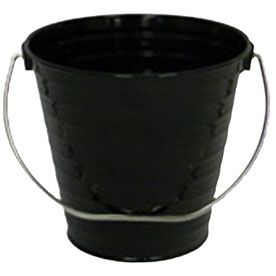 Black Metal Buckets