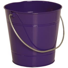 Purple Metal Buckets