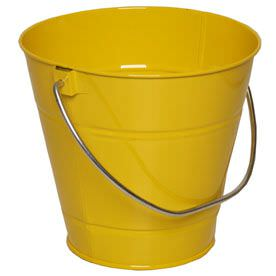 Yellow Metal Buckets