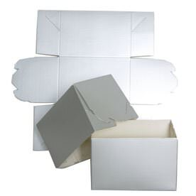 Silver Groove Gift Box (4 x 4 x 6)