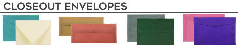 Closeout Envelopes