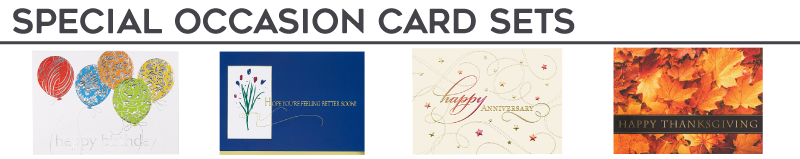 Special Occasion Card Sets