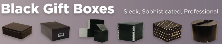 Black Gift Boxes