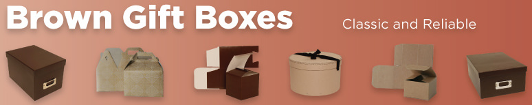 Brown Kraft Gift Boxes