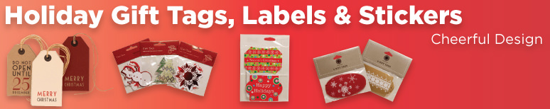Holiday Gift Tags, Labels, and Stickers