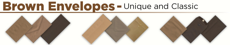 Brown Envelopes - By Size