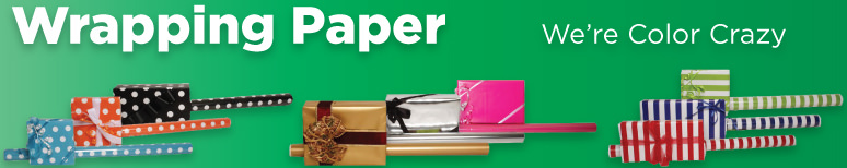 Wrapping Paper - By Color