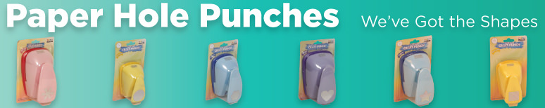 Paper Hole Punchers - By Shape