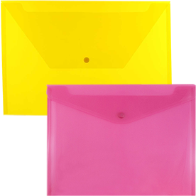 Plastic Snap Closure Envelopes