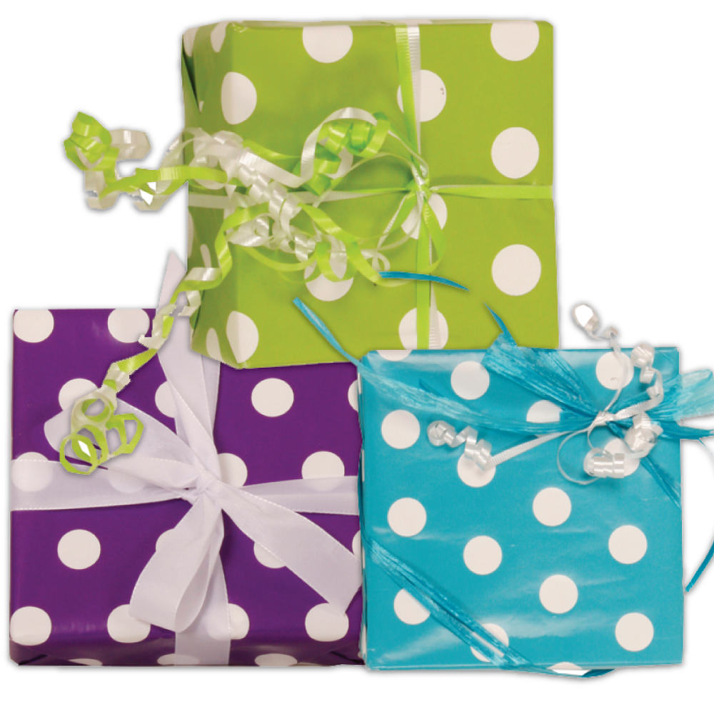 Polka Dot Wrapping Paper - 1