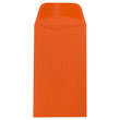 Orange #6 Coin Envelopes - 3 3/8 x 6 - 2