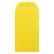 Yellow #6 Coin Envelopes - 3 3/8 x 6 - 2