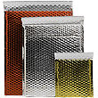 Metallic Bubble Mailers - Peel & Seal Closure - 2