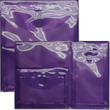 Purple Multi Pckt Envelopes- VELCRO® BrandClosure