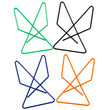Color Butterfly Steel Wire Paper Clips - 1