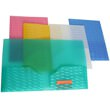 Wave Design Plastic Folders