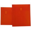 Orange Plastic Envelopes - Velcro® Brand Closure