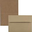 Brown Kraft Paper Bag Recycled Cards & Envelopes