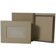 6 x 8 x 1 Brown Kraft Photo Storage Box