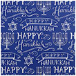 Hanukkah Design Wrapping Paper