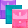 2 Pocket Open End Envelopes- VELCRO® BrandClosure