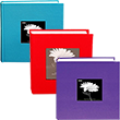 Fabric Covered Photo Albums - 1