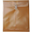 Gold Letter Open End Plastic Envelopes-9.75x11.75 - 1