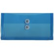 Blue #10 Busines Plastic Envelopes - 5 1/4 x 10