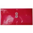 Red #10 Business Plastic Envelopes - 5 1/4 x 10 - 1
