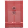 Red A6 Plastic Envelopes - 4 1/4 x 6 1/4