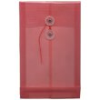 Red 6 1/4 x 9 1/4 Plastic Envelopes