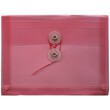 Red Index Plastic Envelopes - 5 1/2 x 7 1/2
