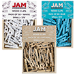 Mini Wood Clothing Pin Clips - 1