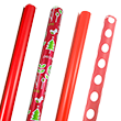 Red Wrapping Paper Rolls