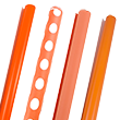 Orange Wrapping Paper Rolls - 1