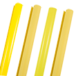Yellow Wrapping Paper Rolls - 1
