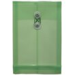 Green 6 1/4 x 9 1/4 Plastic Envelopes - 1