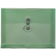 Green Index Plastic Envelopes - 5 1/2 x 7 1/2