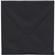Black 3 1/8 x 3 1/8 Square Envelopes - 1