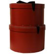 Red Hat Box Nesting Set - 13 x 8 & 13.5 x 9.25