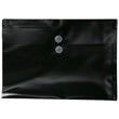 Black Legal Plastic Envelopes - 9.75x14.5