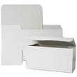 12 x 6 x 6 White Open Top Gift Box - 1