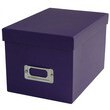 6 1/8 x 8 3/4 x 5 1/2 Purple Heavy Duty Box