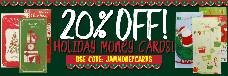 20% off Money Cards