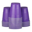 Purple Plastic Cups