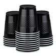Black Plastic Cups - 1